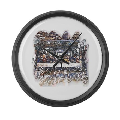 Lord's Last Supper Giant Clock