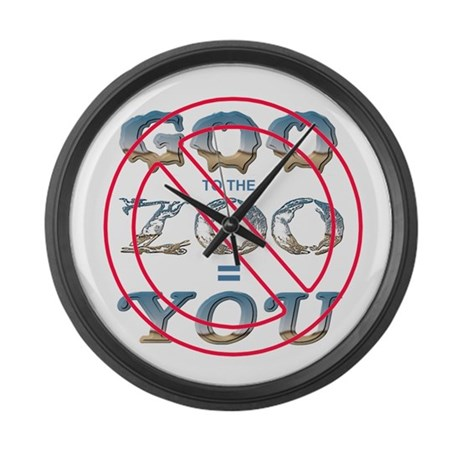 Anti-Evolution Giant Clock