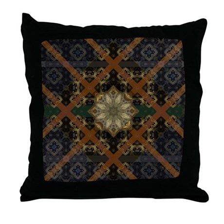 Floral Mystique Throw Pillow