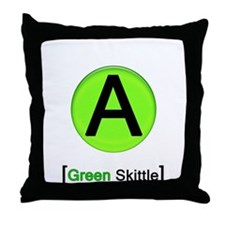 Unique Skittles Throw Pillow