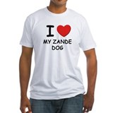 I love MY ZANDE DOG Shirt
