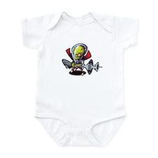 Cute Raygun Infant Bodysuit