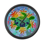 Flame Turtle Large Wall Clock