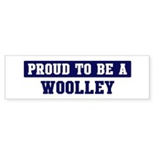 Proud to be Woolley Bumper Car Sticker