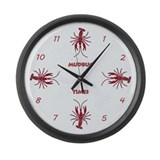 Mudbug Times Giant Clock