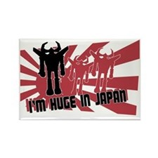 Im Huge in Japan Robot Rectangle Magnet