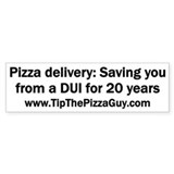 Pizza delivery: Saving you from a DUI for 20 years