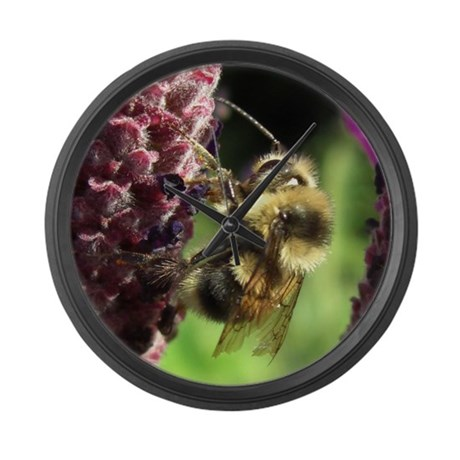 Bumblebee Large Wall Clock