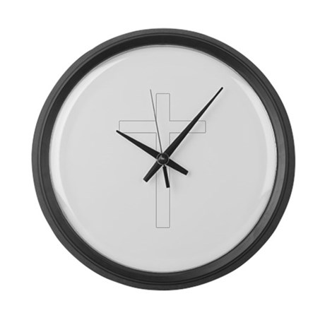 Simple Cross Giant Clock
