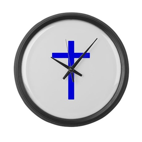 Blue Cross Giant Clock