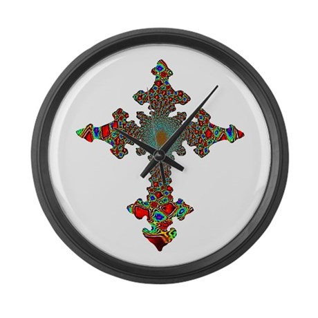 Jewel Cross Giant Clock