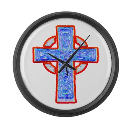 Celtic Cross Giant Clock