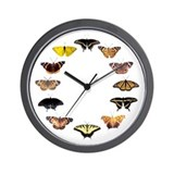 Butterfly Clock