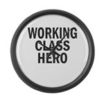 Working Class Hero Giant Clock