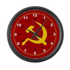 Hammer and Sickle Giant Clock