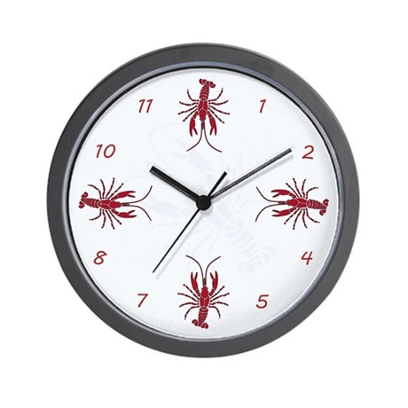 Crayfish Wall Clock