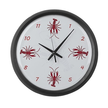 Crayfish Giant Clock