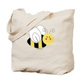 Cute Bee Tote Bag