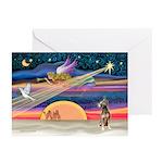 XmasStar / Xolo (#1) Greeting Cards (Pk of 10)