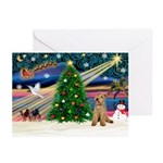 XmasMagic/Lakeland Ter Greeting Cards (Pk of 10)