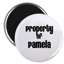 Property of Pamela Magnet