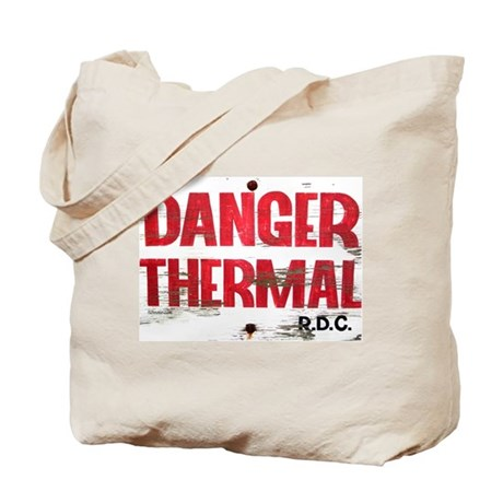 Danger Thermal (Hot) Tote Bag