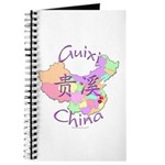 Guixi China Map Journal
