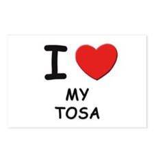 I love MY TOSA Postcards (Package of 8)