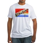 Beaufort South Carolina Greetings Fitted T-Shirt