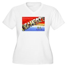 Beaufort South Carolina Greetings (Front) T-Shirt