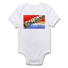 Beaufort South Carolina Greetings Infant Bodysuit