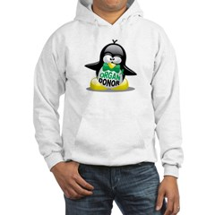 Organ Donor Penguin Hooded Sweatshirt