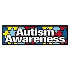 Autism Awareness Bumper Bumper Sticker