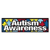 Autism Awareness Bumper Car Sticker