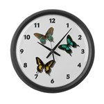 Butterfly Giant Clock