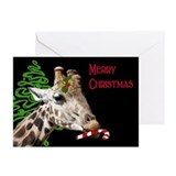Christmas Giraffe Greeting Cards (Pk of 10)