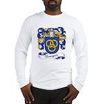 Bourgeois Family Crest Long Sleeve T-Shirt