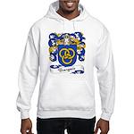 Bourgeois Family Crest Hooded Sweatshirt