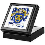 Bourgeois Family Crest Keepsake Box