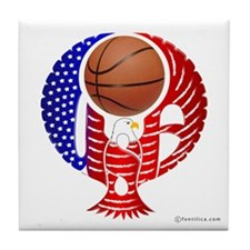 USA Basketball Team Tile Coaster