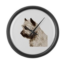 Cairn Profile Breed Name Giant Clock