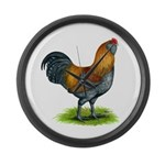 Easter Egg Rooster Giant Clock