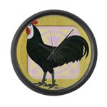 Whitefaced Spanish Rooster Giant Clock