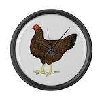 Partridge Chantecler Hen Giant Clock