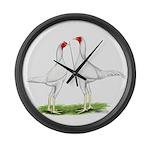 White Modern Games Giant Clock