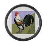 Dutch Rooster Giant Clock