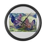Mille Fleur d'Uccles Giant Clock