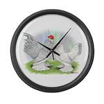 Self Blue d'Uccles Giant Clock