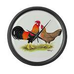 Leghorns Giant Clock