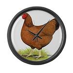 Red Hen Giant Clock